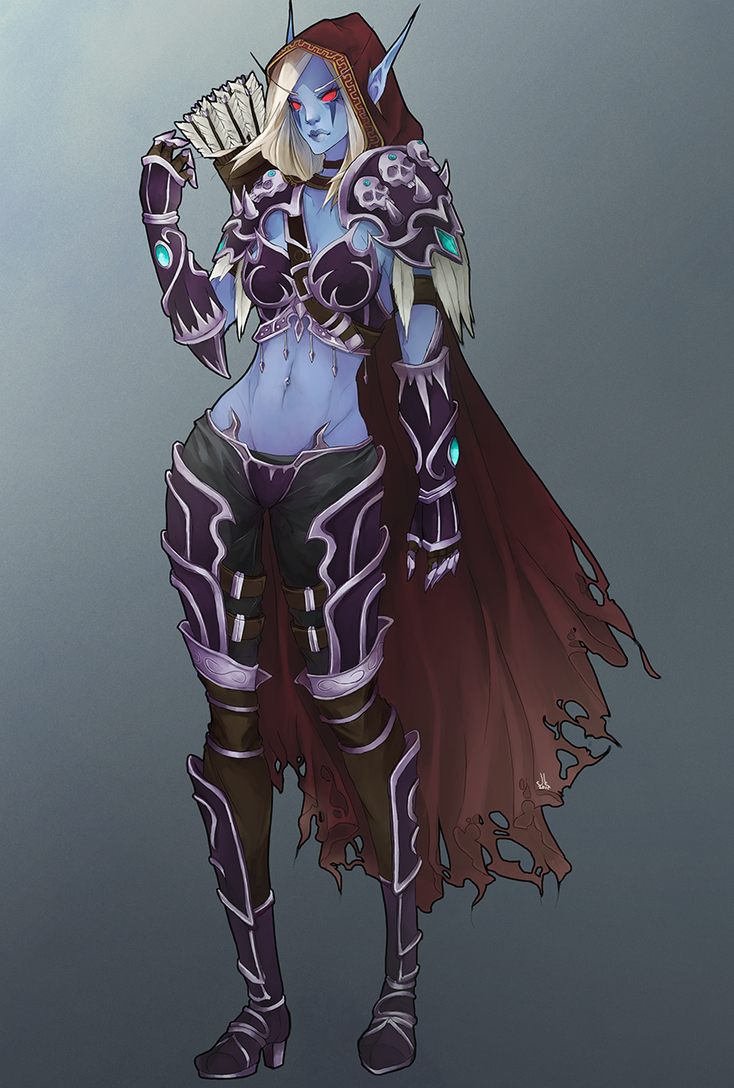 sylvanas windrunner wowpedia your wiki guide to the - HD850×1260