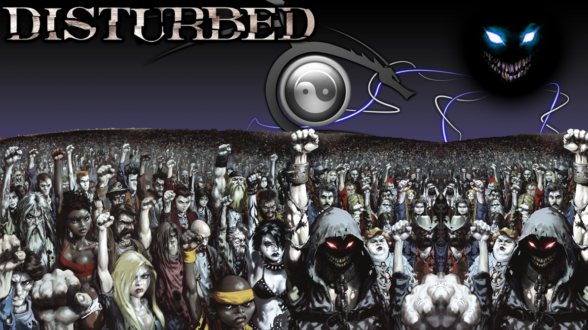Disturbed Wallpaper by Kristov94