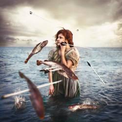 He heard her cry. by Sea-of-Ice