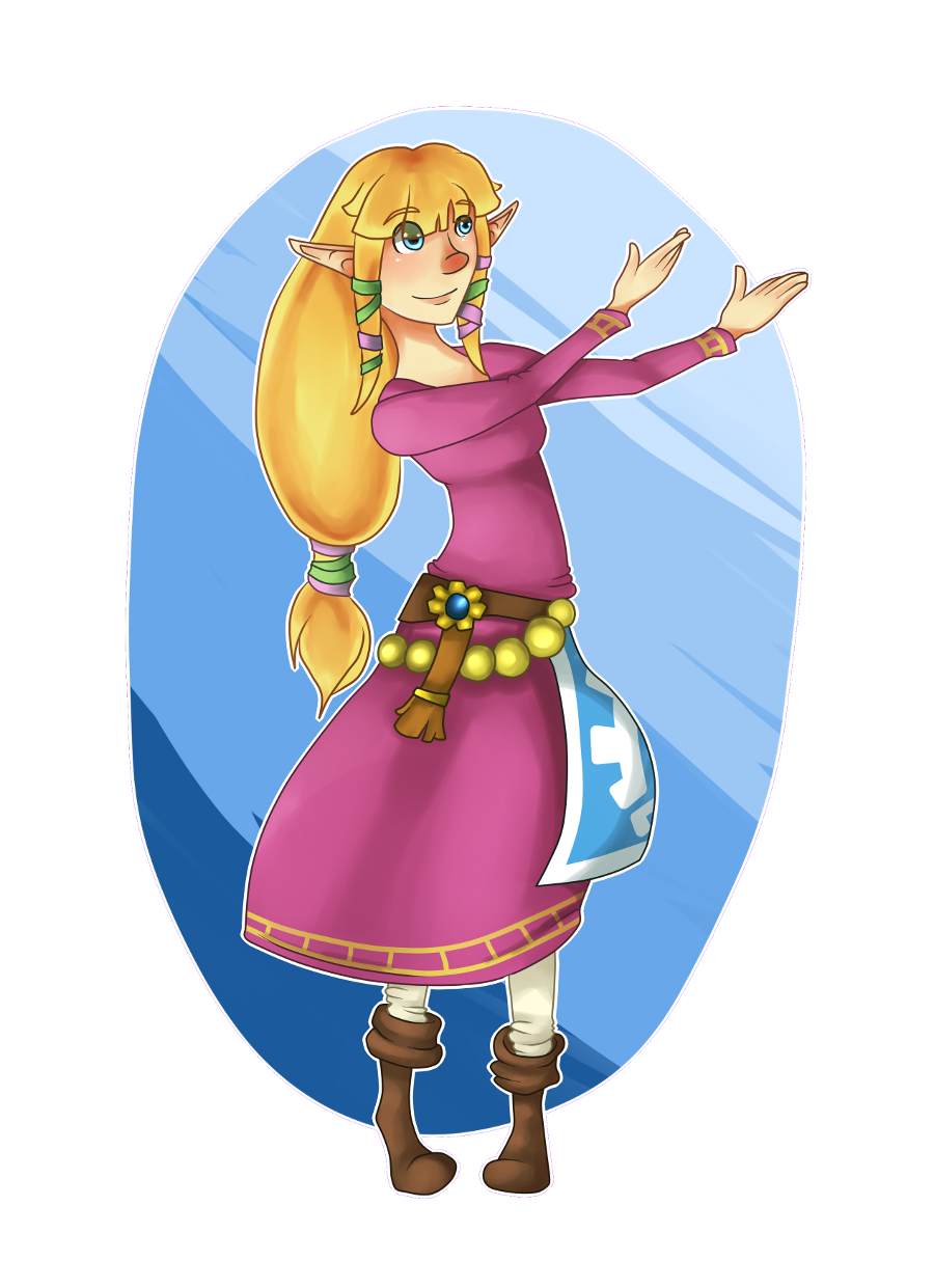 Skyward Sword Zellie by Twillywho