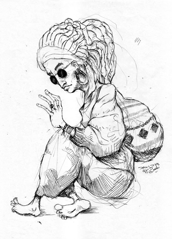 Easy Rasta Drawings Rasta girl by punx666 Cool Rasta Lion Pictures