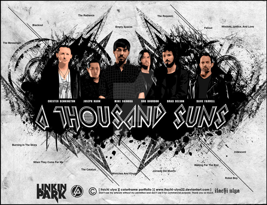 Linkin Park - A Thousand Suns by itachi-ulya22