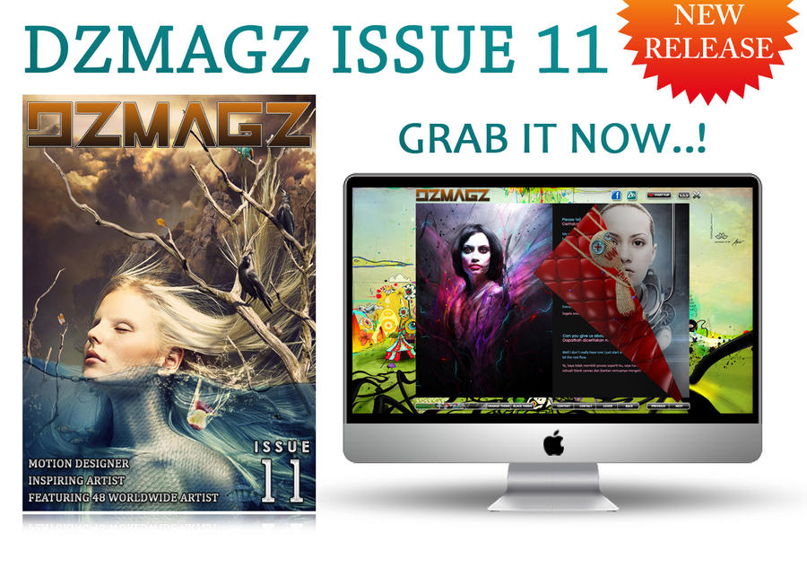 DZMAGZ ISSUE 11 RELEASED by itachi-ulya22