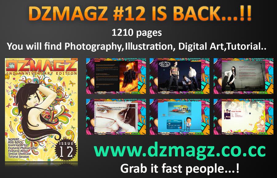 DZMAGZ ISSUE 12 by itachi-ulya22