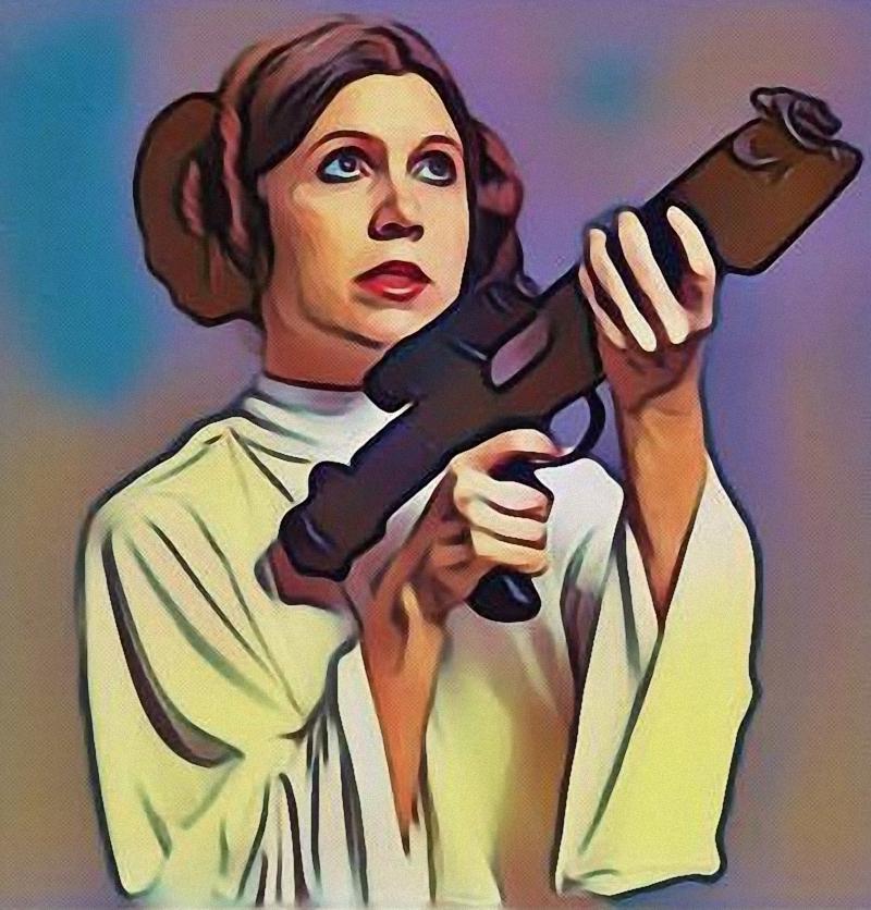 Princess Leia - A new Hope - by Doveri
