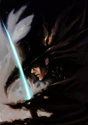 vampire hunter -D- by A-rky
