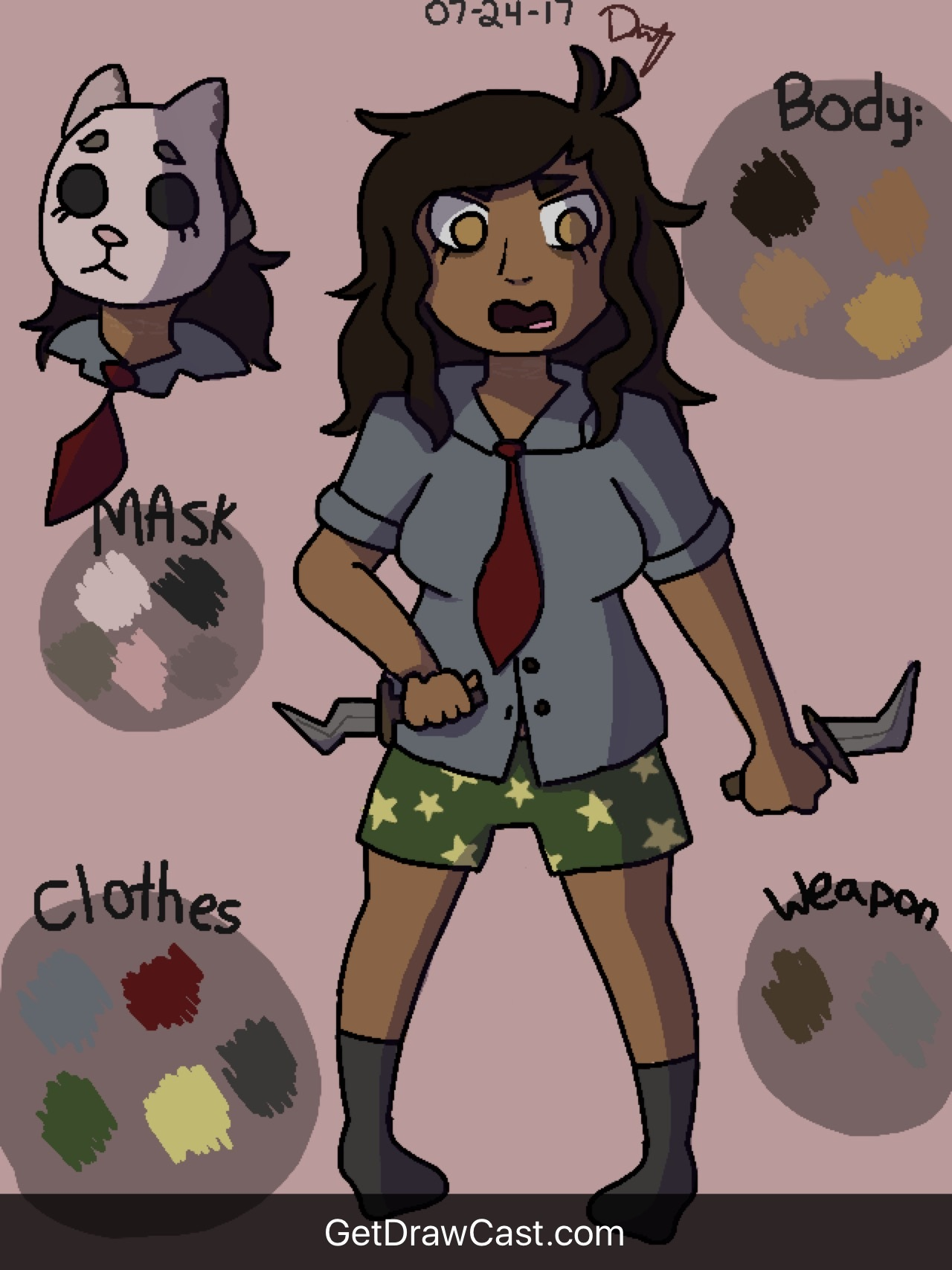 Ditzalia Ref (sorry the quality is bad) by MooseyDooz