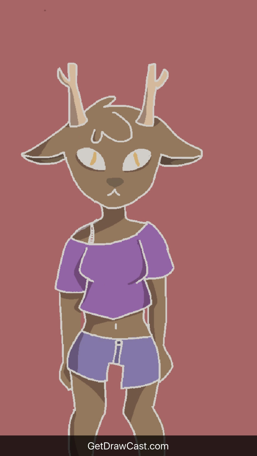 Deer Girl (nitw oc) by MooseyDooz
