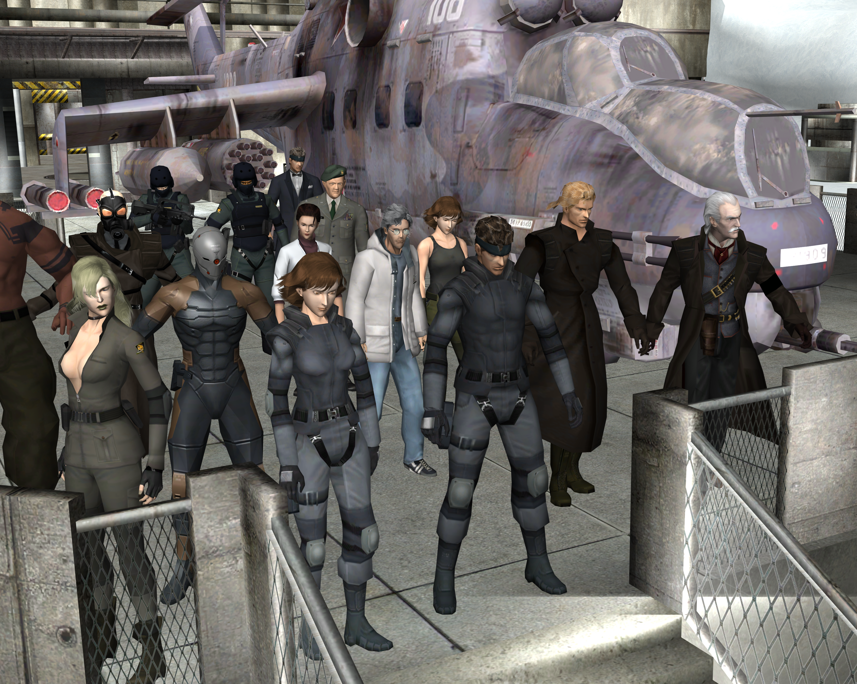 The VG Resource - METAL GEAR SOLID ABSOLUTE CHARACTER MODEL PACK