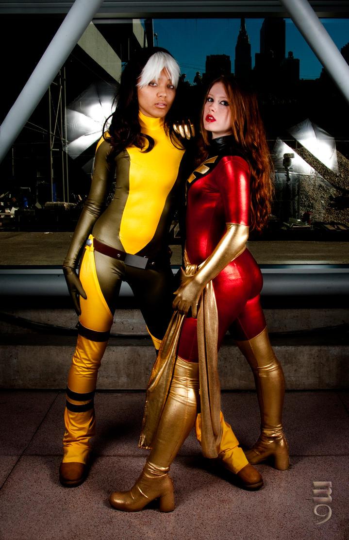 Marvel Girls III by RenzokukenXIV