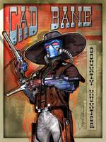 Cad Bane Bounter Hunter by SteveAndersonDesign