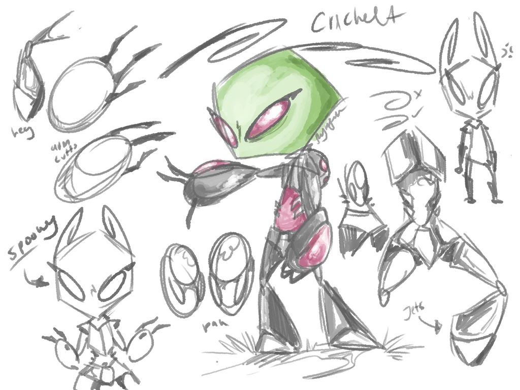 Cricket concept art by Pheuxie