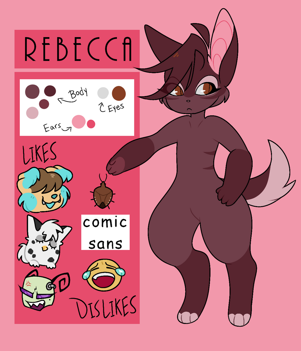 ~Rebecca Reference sheet 2018~ by Pheuxie