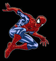 SpiderMan colors by bathill8