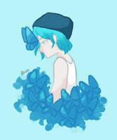 Blue Butterfly by peebuls