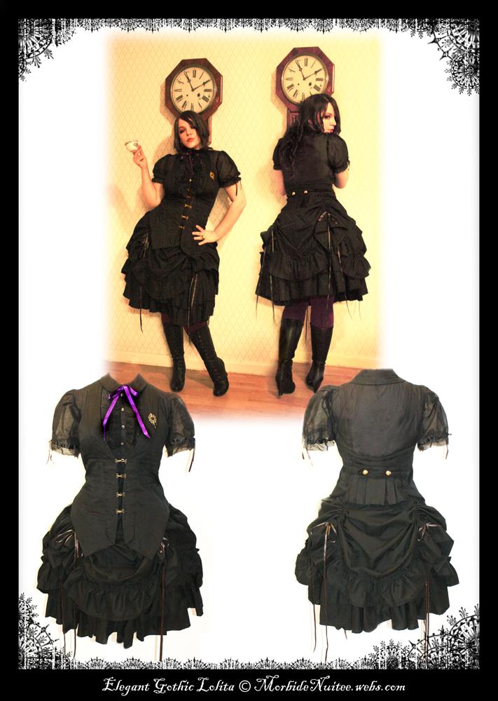 Elegant Gothic Lolita by MorbideNuitee