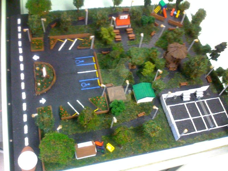 Park 3D ModelPart 2 By Virginianunez