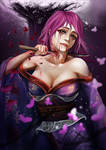 Yuyuko kills herself by TheYoukaiofDimension