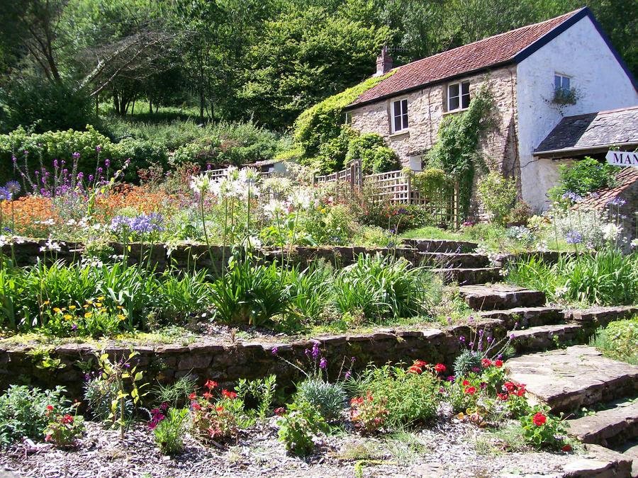 English Flower Garden By Dawnlady