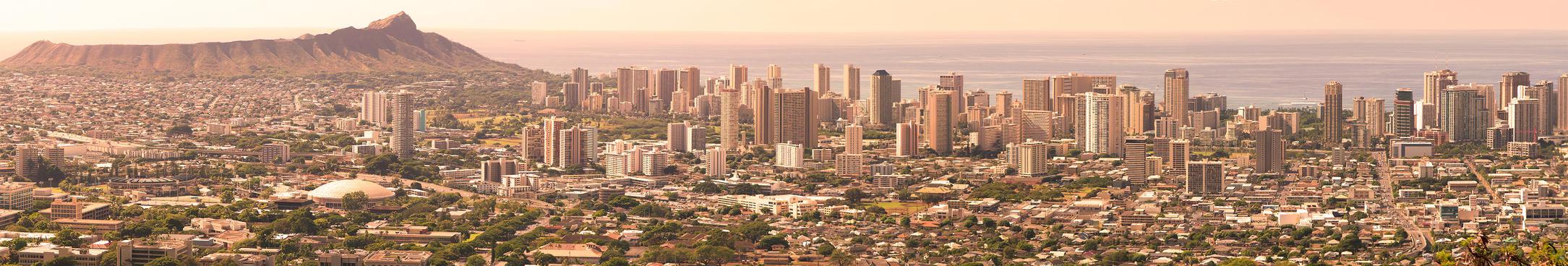 Honolulu Morning by giantspeck
