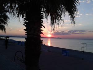 Sunrise in Antalya