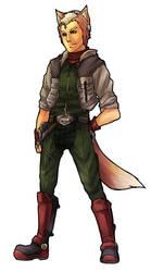 misc: Fox McCloud by jackettt