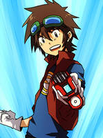 Digimon: xros by jackettt