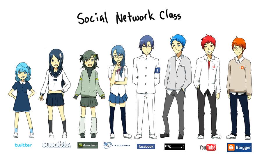 internet: social networking by jackettt