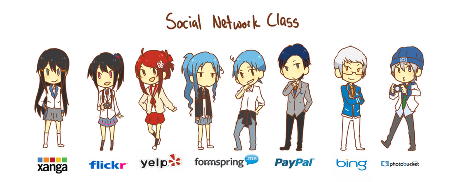 Internet Social Networking 2 By Jackettt On Deviantart