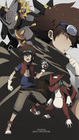 Digimon: Xros Adventure by jackettt