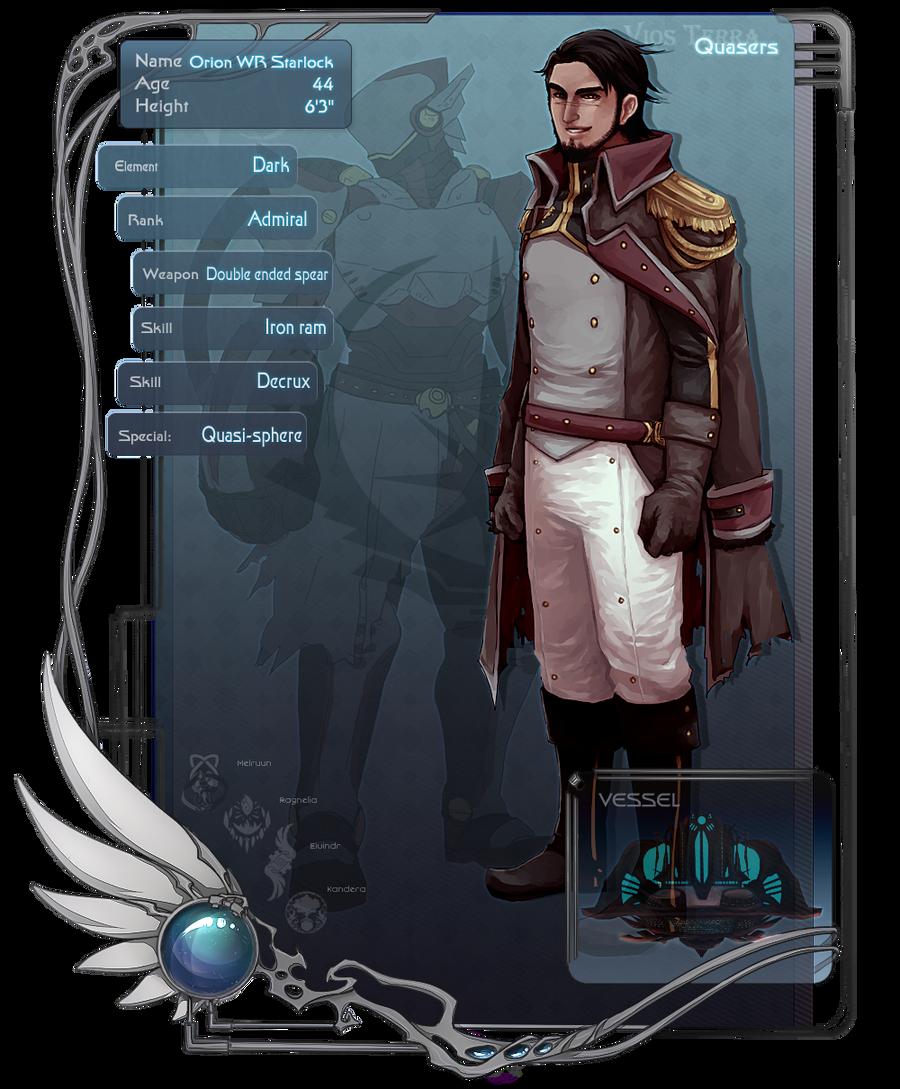 VT: Admiral Starlock by jackettt