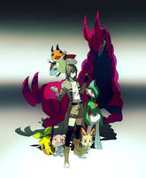 GT: Pokemon AU