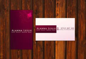 Alanna Business card by yanic