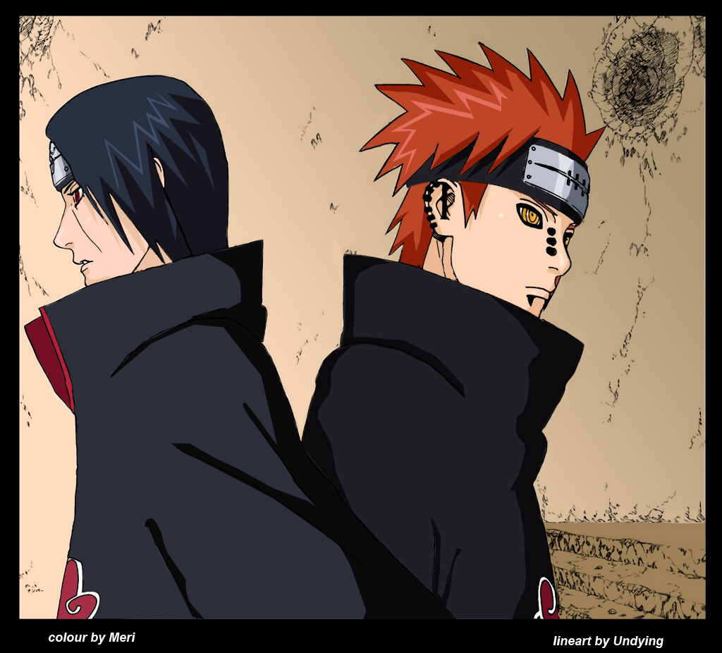 Sharingan vs Rinnegan by Hinatasecretjounin on DeviantArt