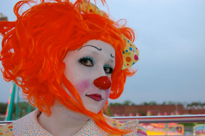 Peaches the Clown I. by burntfaestock