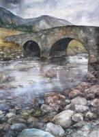 old bridge by Katarzyna-Kmiecik