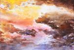 sky - watercolor practice 3