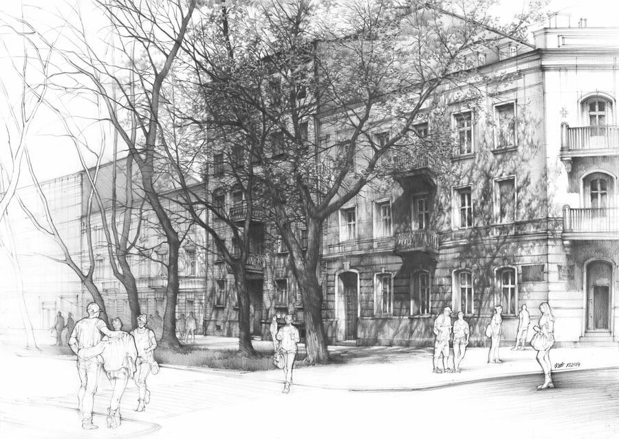 Radom in April by Katarzyna-Kmiecik