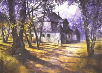 Polish mansion in Ozarow by Katarzyna-Kmiecik