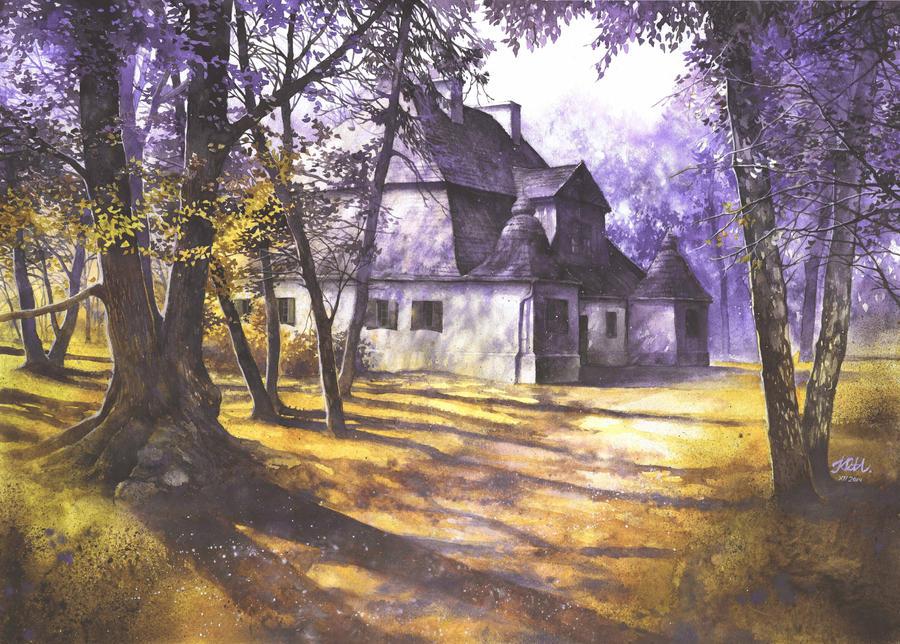 Polish mansion in Ozarow