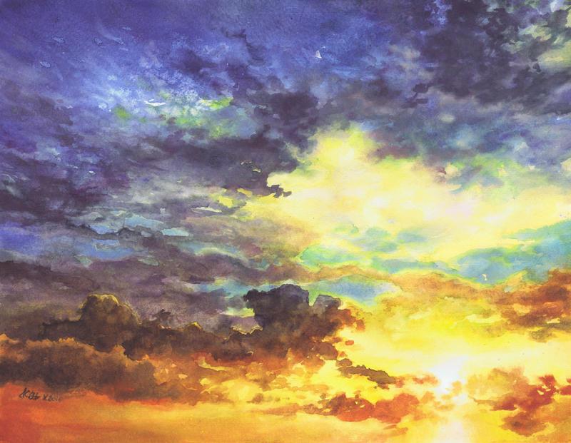 Sky No 4 by Katarzyna-Kmiecik