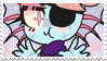 // undyne stamp by anxi0usCactus