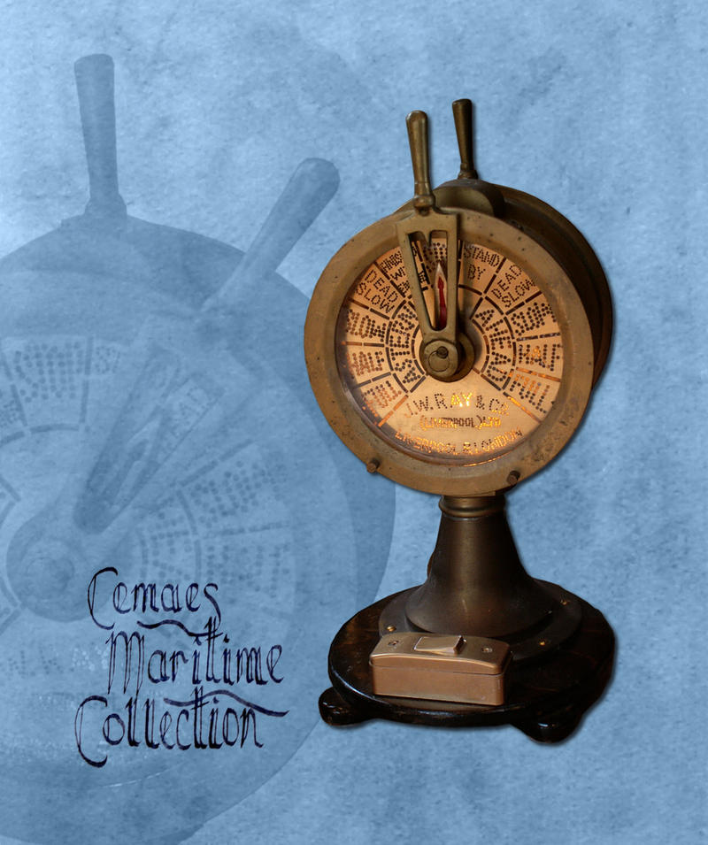 Engine Order Telegraph (EOT) or Chadburn by CemaesMaritime