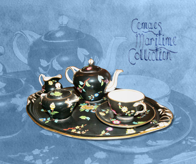 One Person Tea Set by CemaesMaritime