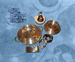 Various Elder Dempster Lines items