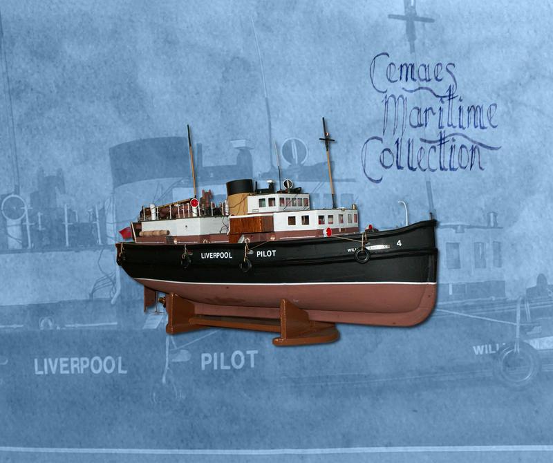Model of pilot vessel William Clarke by CemaesMaritime
