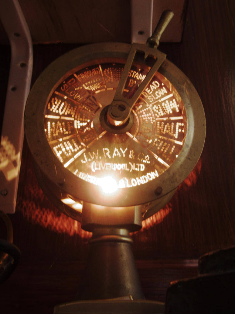Engine Order Telegraph by CemaesMaritime