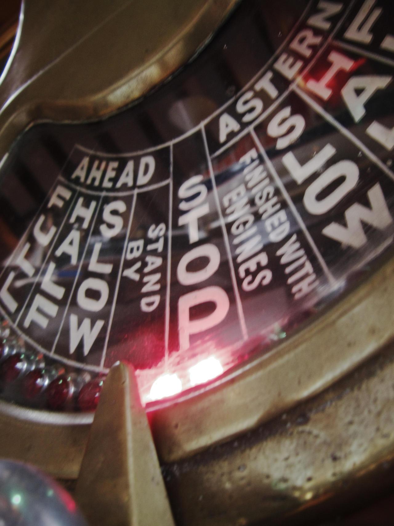 Ahead - Astern - Stop - Slow