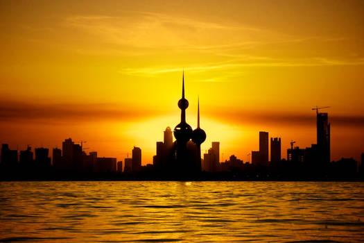 Kuwaiti Sunset