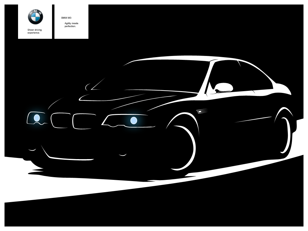 The Gallery For Gt Bmw Silhouette Vector